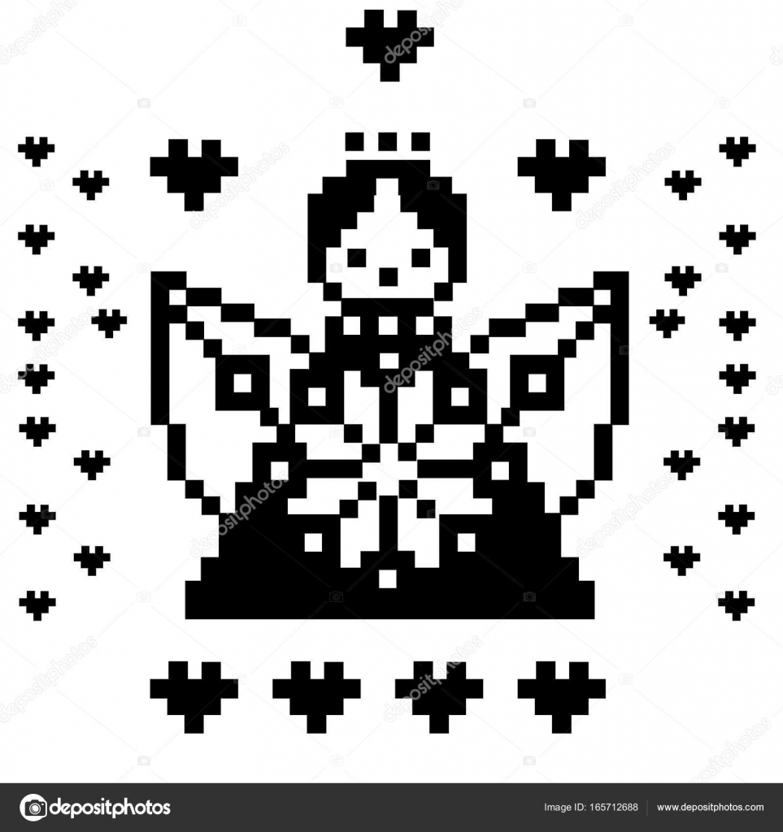 Pixel Art Angel Pixel Art Angel Heaven Characters