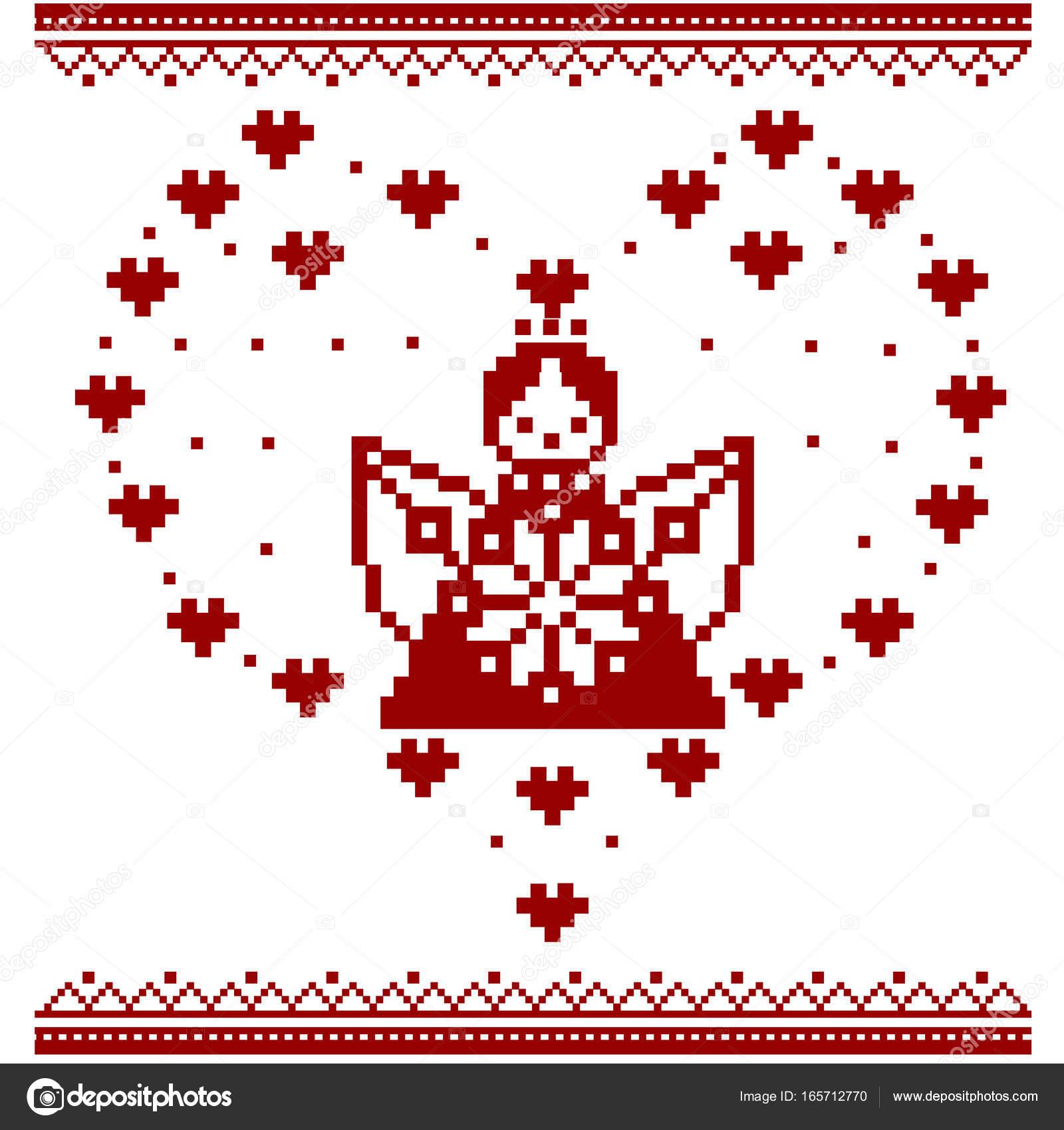 Pixel Art Stitch And Angel Angel Pixel Art Angel Cupid