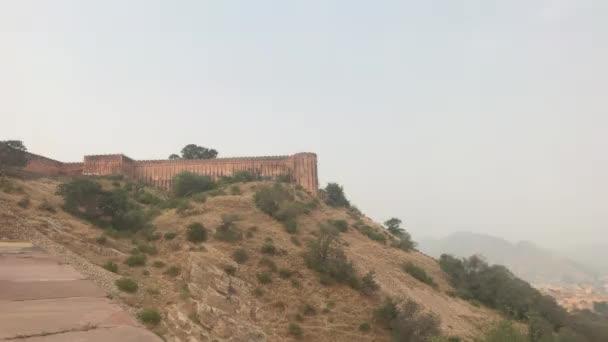 jaipur, indien - Ansicht der Festung aus der Ferne Teil 20