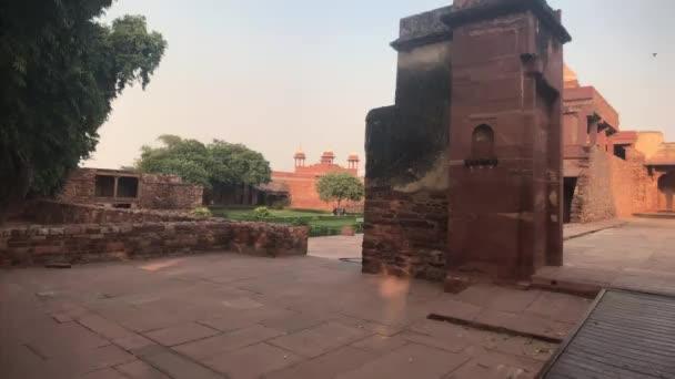 Fatehpur Sikri, India - a korábbi luxus 2. részének történelmi maradványai
