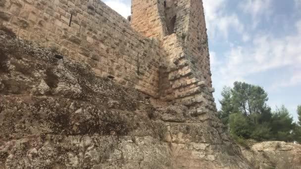 Ajloun, Jordánsko - kamenné zdi historického hradu část 3