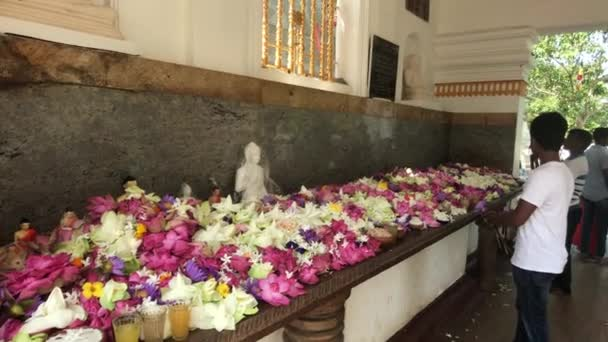 Anuradhapura, Srí Lanka, akce v chrámu 3 část