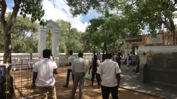 Anuradhapura, Srí Lanka, esemény a templomban 1 rész