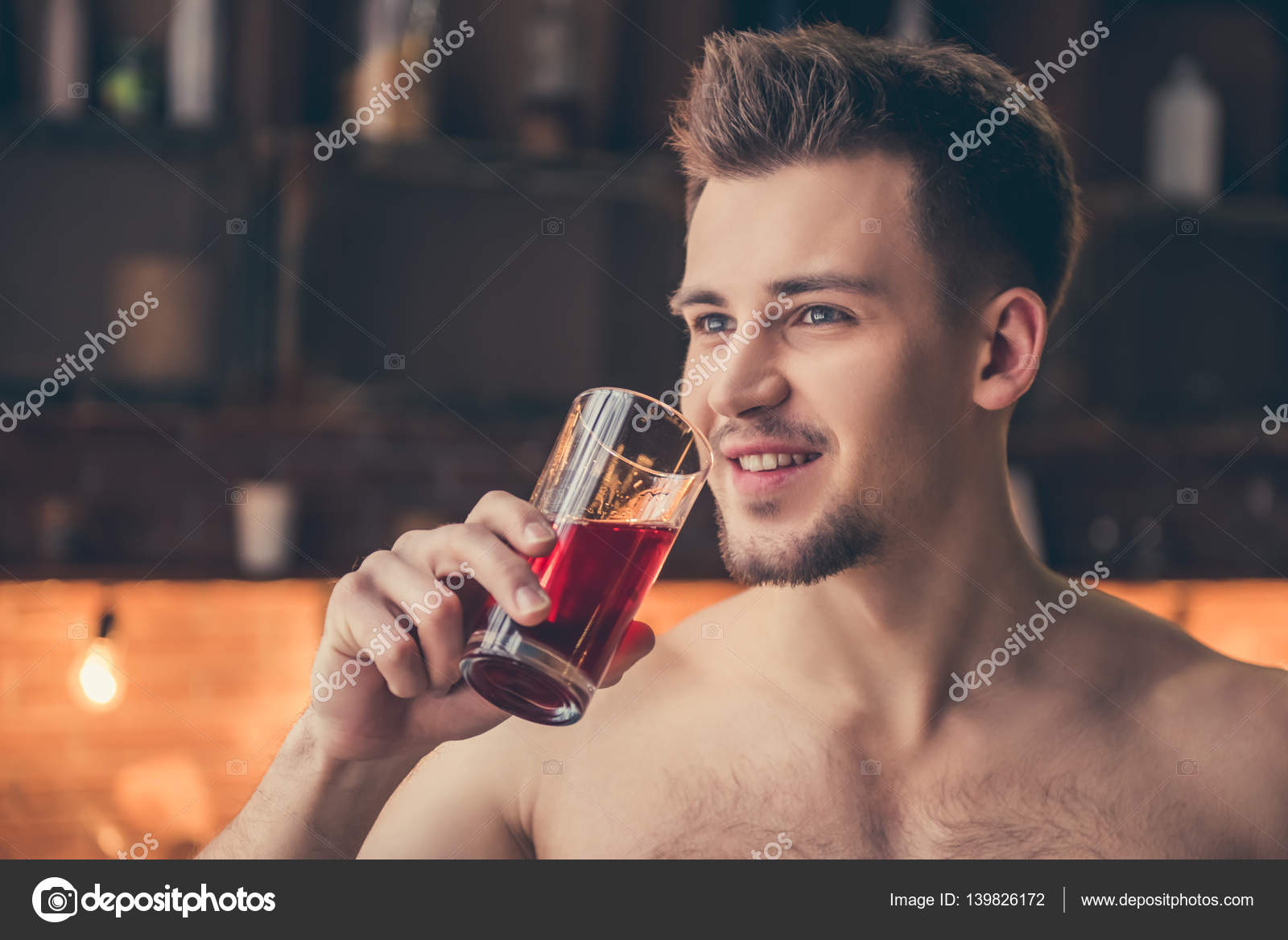 sexy naakte Cola