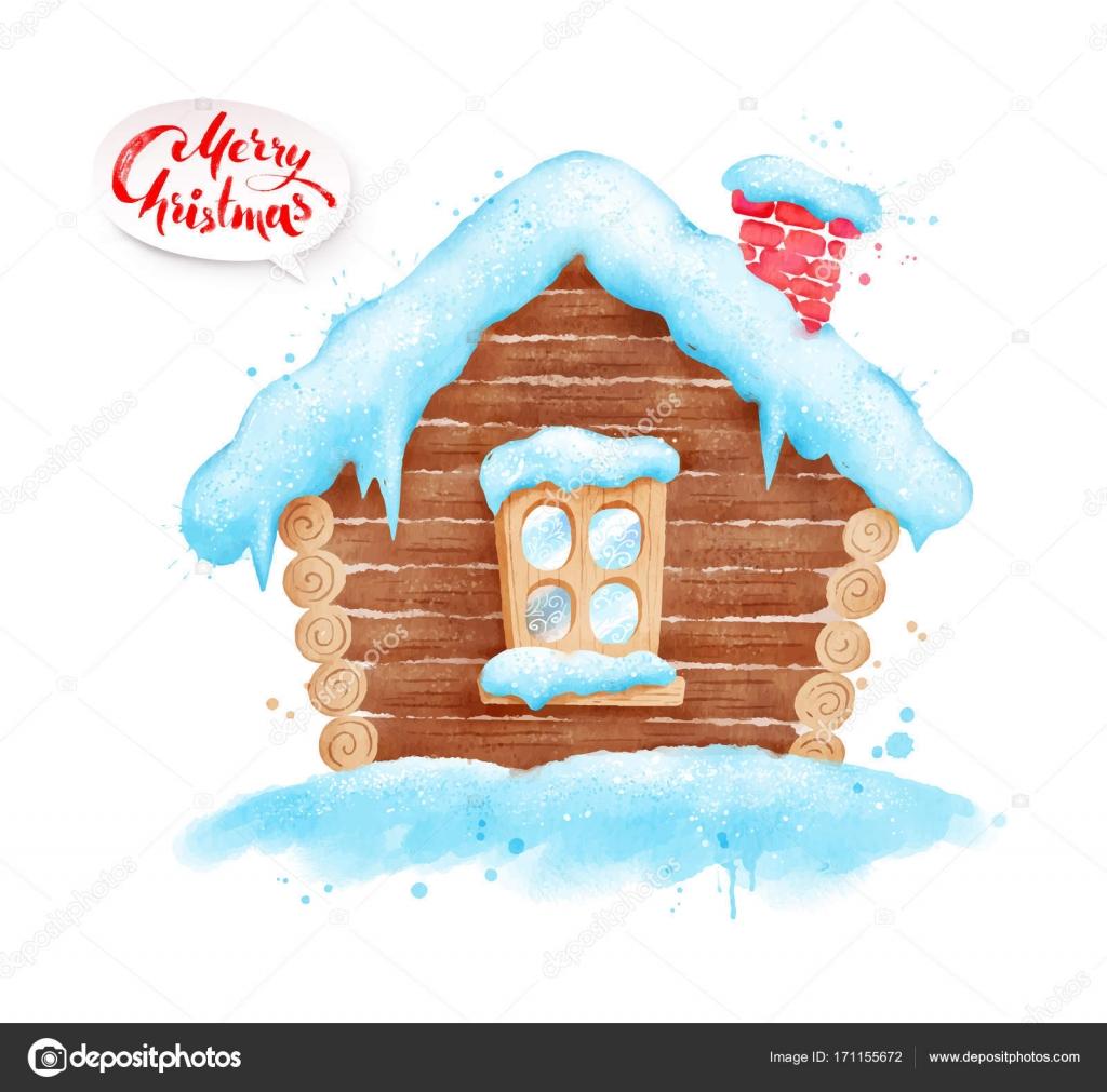 冬の積雪のイラスト ストックベクター Sonyaillustration 171155672
