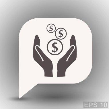 design of money icon