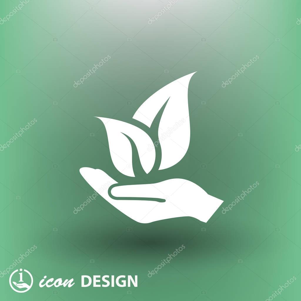 environment saving concept icon