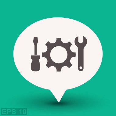 design of gear icon