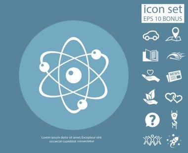 atom simple icon