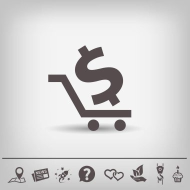 dollar sign in cart