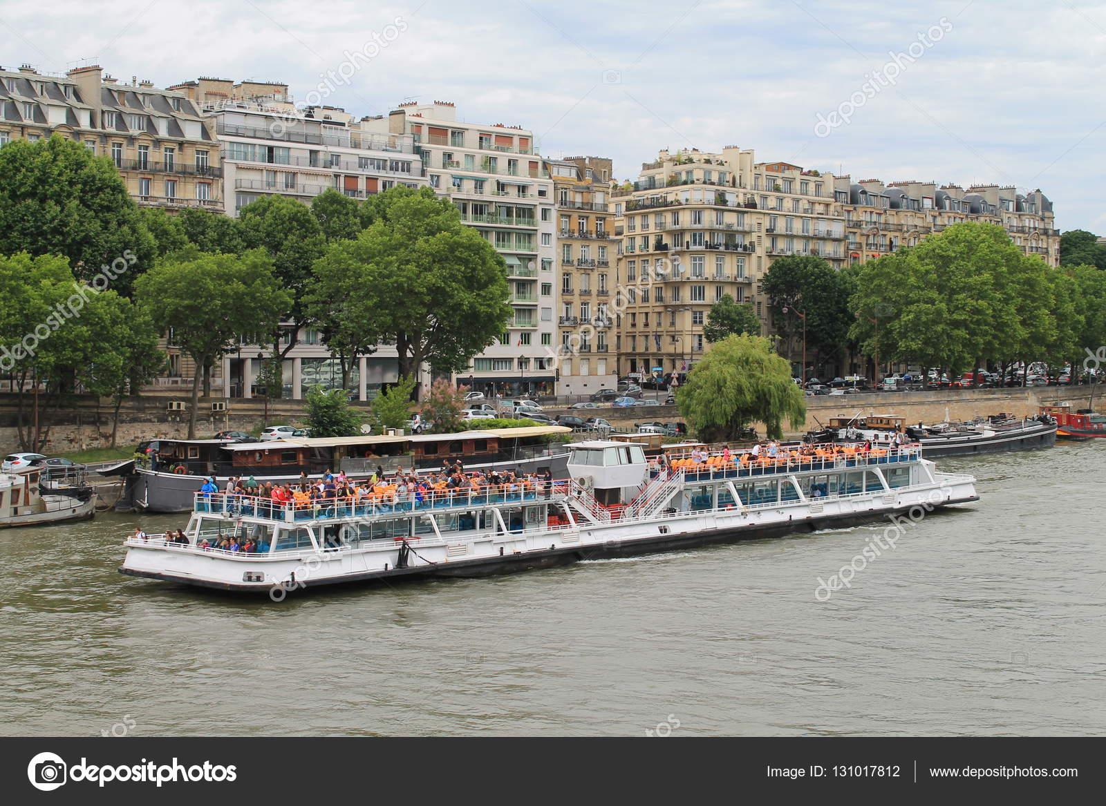 Parigi Capitale E Città Più Popolosa Della Francia Foto Stock