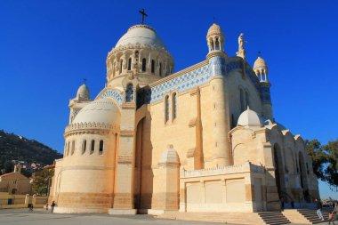 Notre dame d'afrique cathedrale in Algiers,