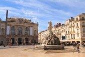 Komedie náměstí v Montpellier, Francie