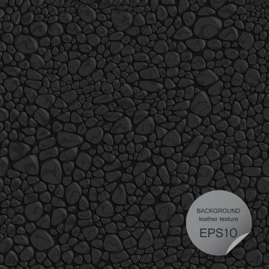 Seamless background leather texture. Vector illustration.