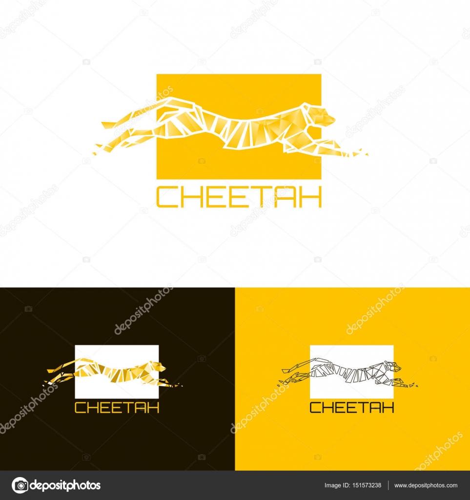 ᐈ cheetah stock icon royalty free cheetah logo cliparts download on depositphotos https depositphotos com 151573238 stock illustration printstylized cheetah logo cheetah vector html
