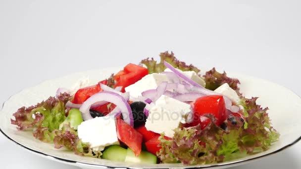 Řecký zeleninový salát
