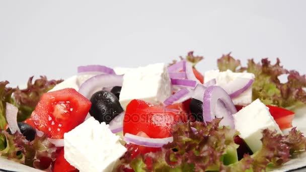 fresh vegetable greek salad