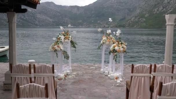 upravené místo pro svatební obřad