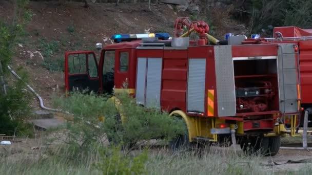 Hasičský vůz pro hašení požáru