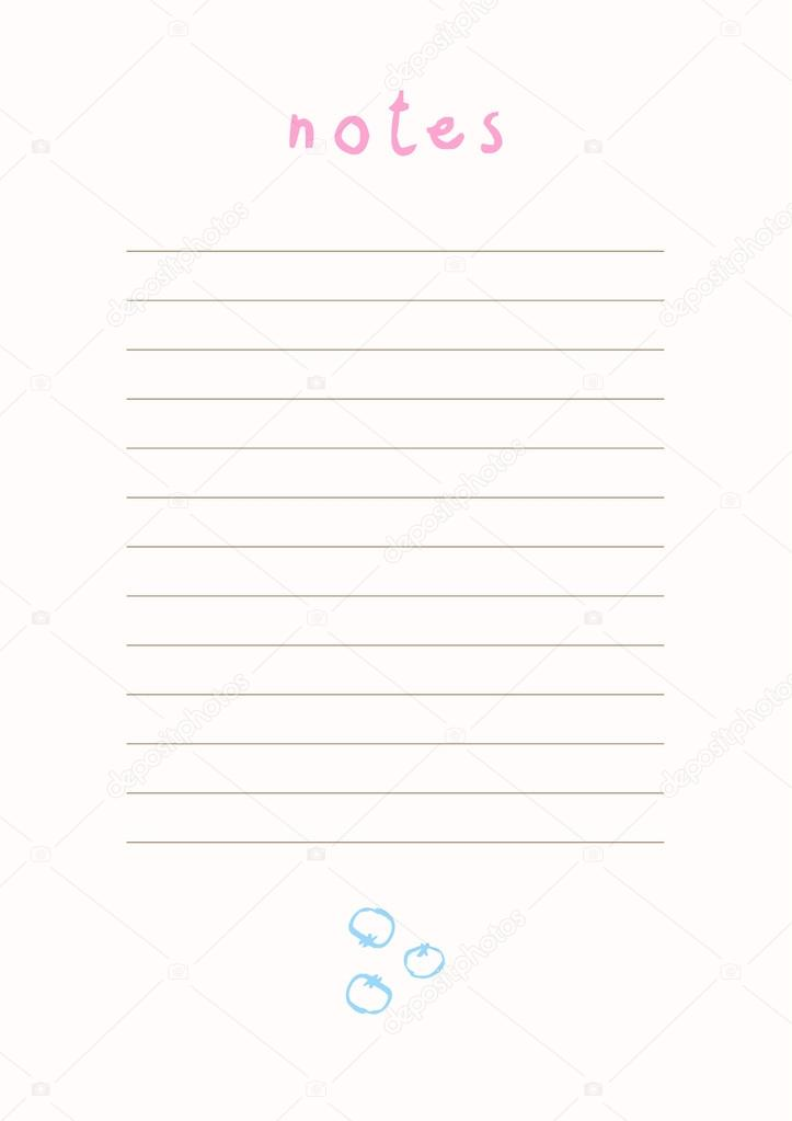 image about Notes Template Printable referred to as Printable new music notice templates Desirable Notes template