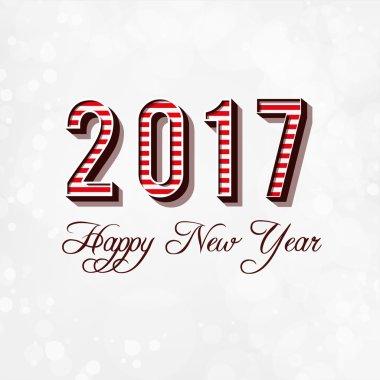 Happy New Year Card 2017