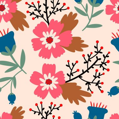 Beautiful Floral pattern.