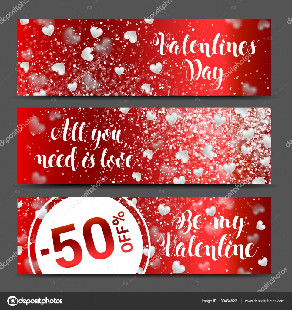 valentines day sale background with icon set pattern wallpaper