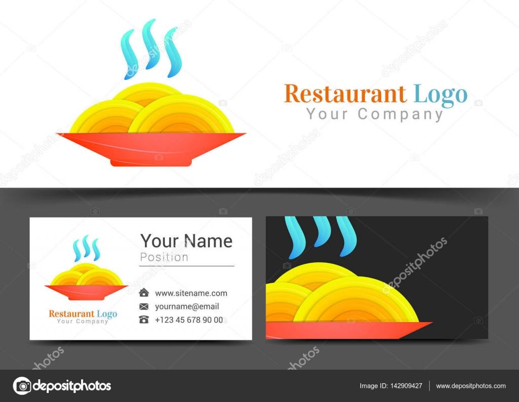 Nudel Suppe heiß essen abstrakte kulinarische Küche Logo und ...