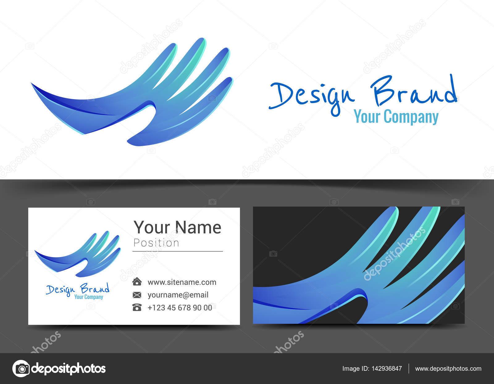 3edadc851c9b сердце в руках человека. Корпоративного логотипа и визитных карточек ...