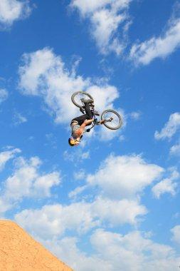 professional rider at the MTB (Mountain Biking)