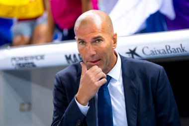 coach Zinedine Zidane