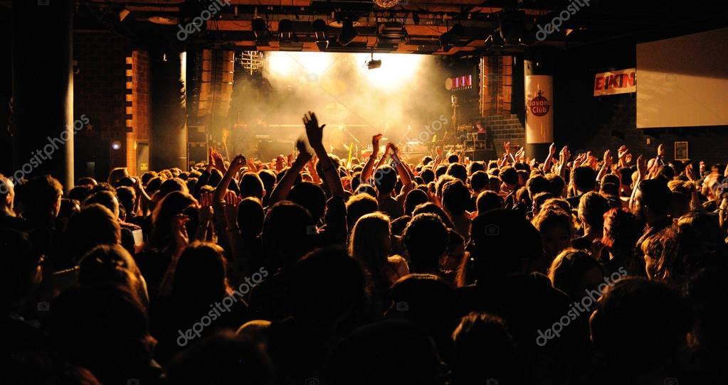 People from the crowd    at Bikini Club