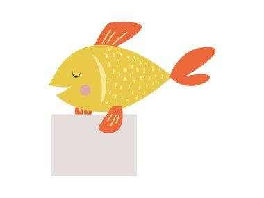 Cute animal vector character