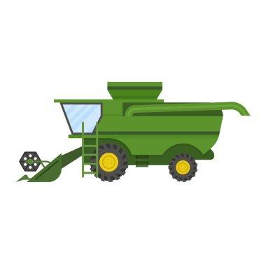Vehicle tractor farm vector