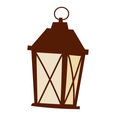 Street light vector illustration.