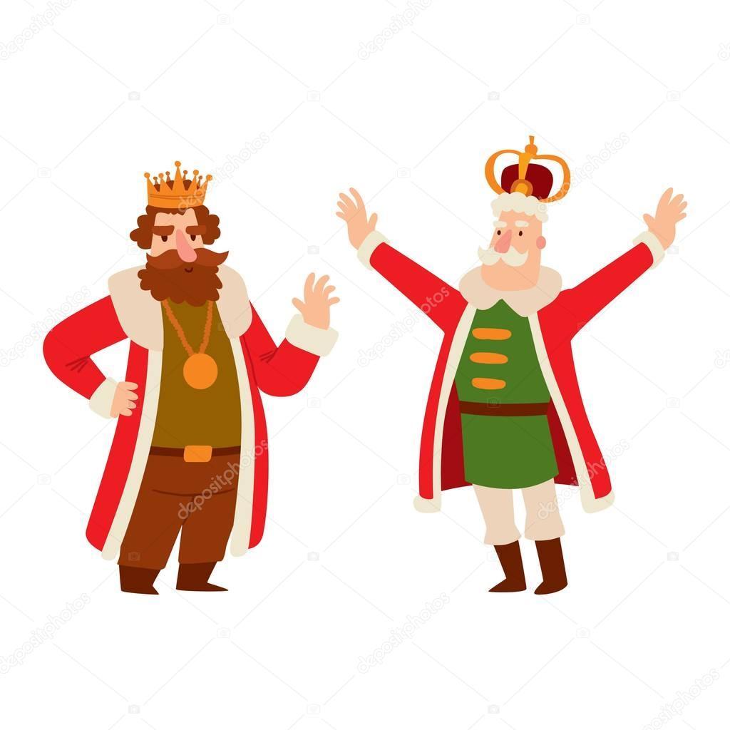 King Cartoon Vector Character Stock Vector C Adekvat 129025016
