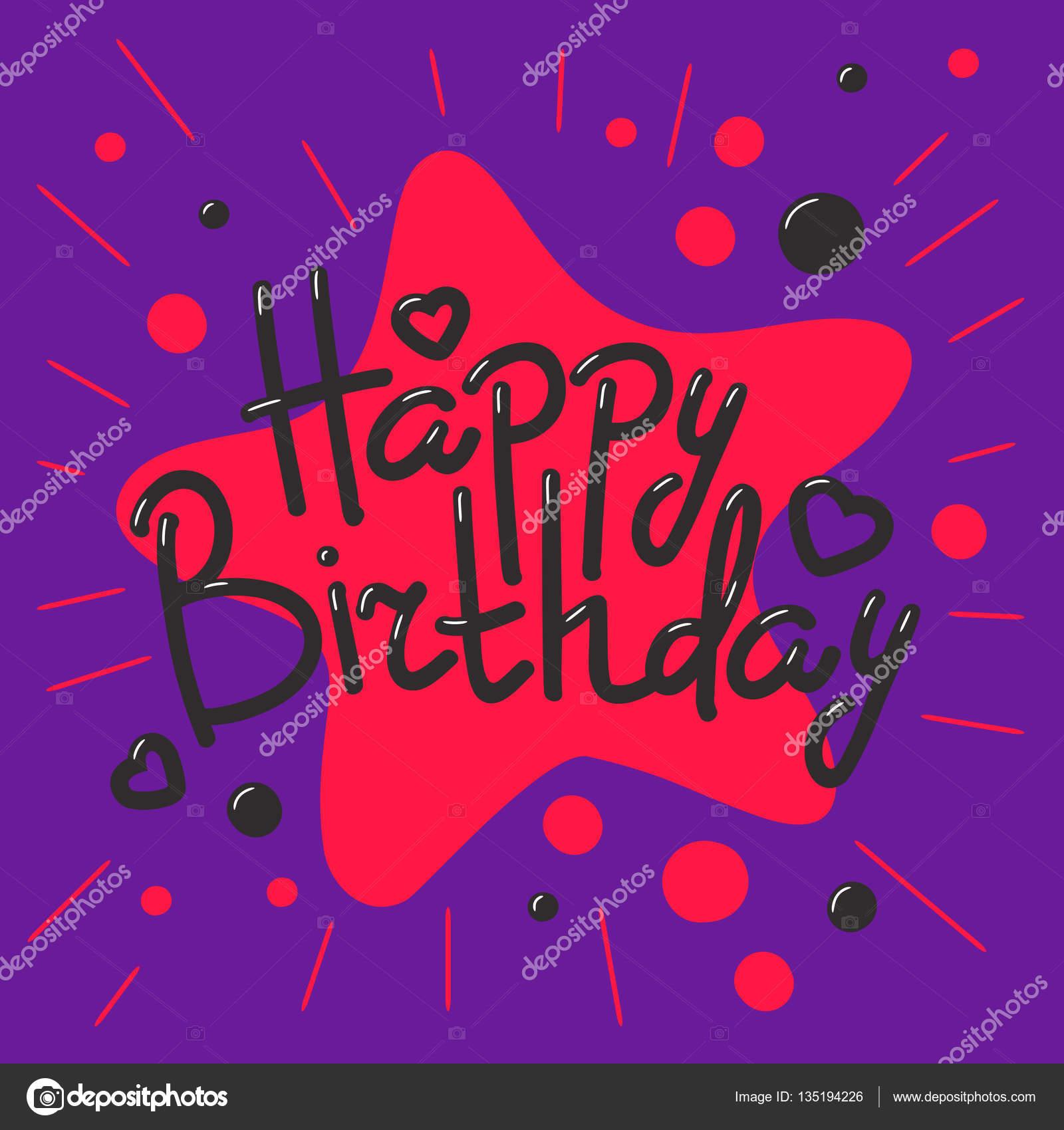 Sensational Beautiful Happy Birthday Invitation Cards Vector Stock Vector Funny Birthday Cards Online Fluifree Goldxyz