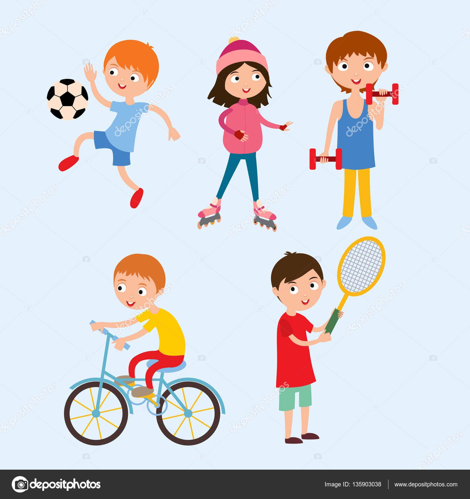 Маленькие спортивные дети фото
