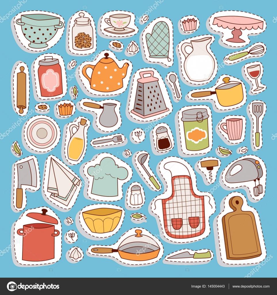Symbol der Küche-set — Stockvektor © adekvat #145004443