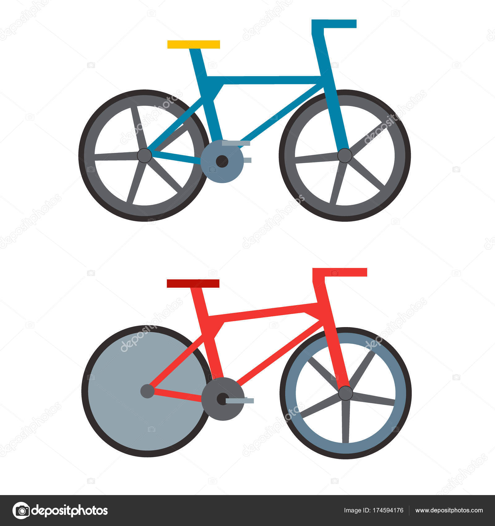 Biciclette Retrò Vintage E Stile Antico Sport Vecchia Moda Grunge