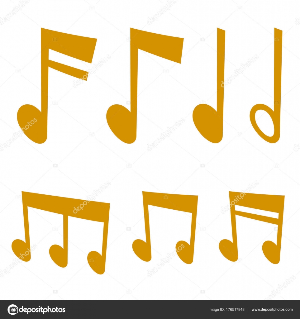 Notes music melody colorfull musician symbols sound melody