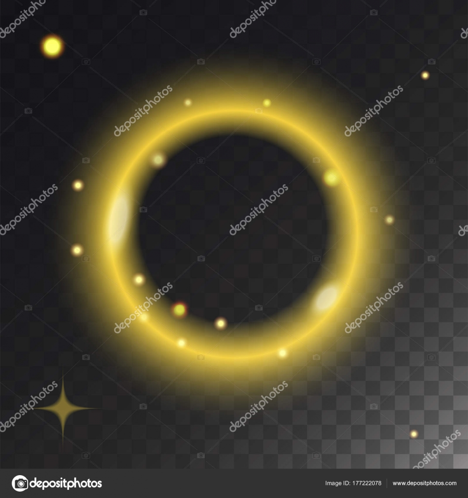 Glowing Vector Lights Effect And Stars Effect Glow Blur Stars
