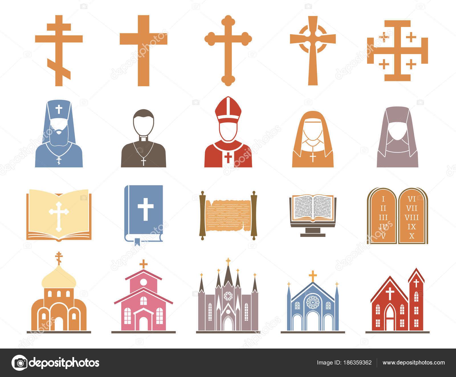 キリスト教宗教ベクトル牧師 rel...