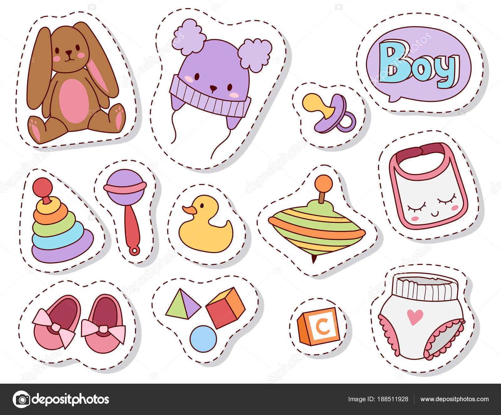 df9233da4 Parches de juguetes de bebé de dibujos animados diseño de juguetería de  niños familia lindo niño