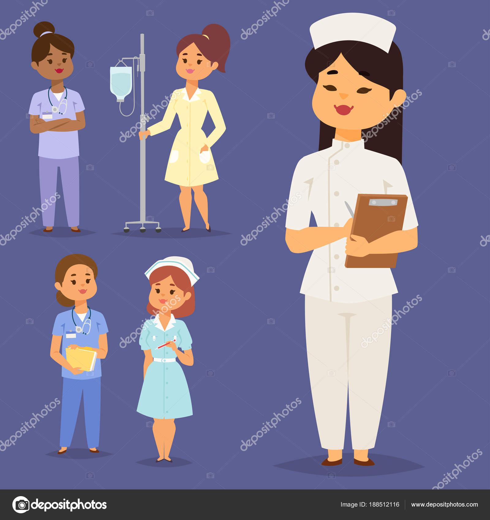 Медсестра и доктора вместе