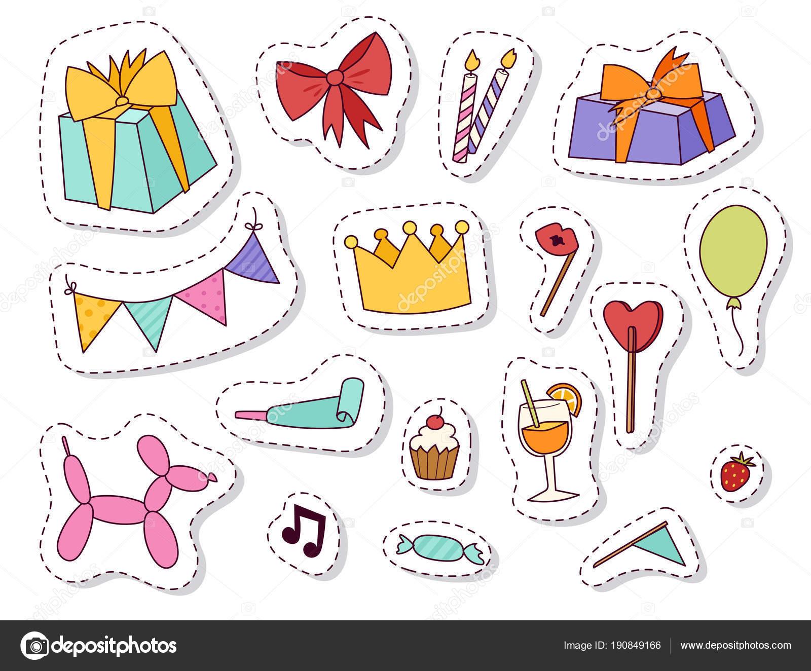 Joyeux Anniversaire Celebration Divertissement Confetti Actuel