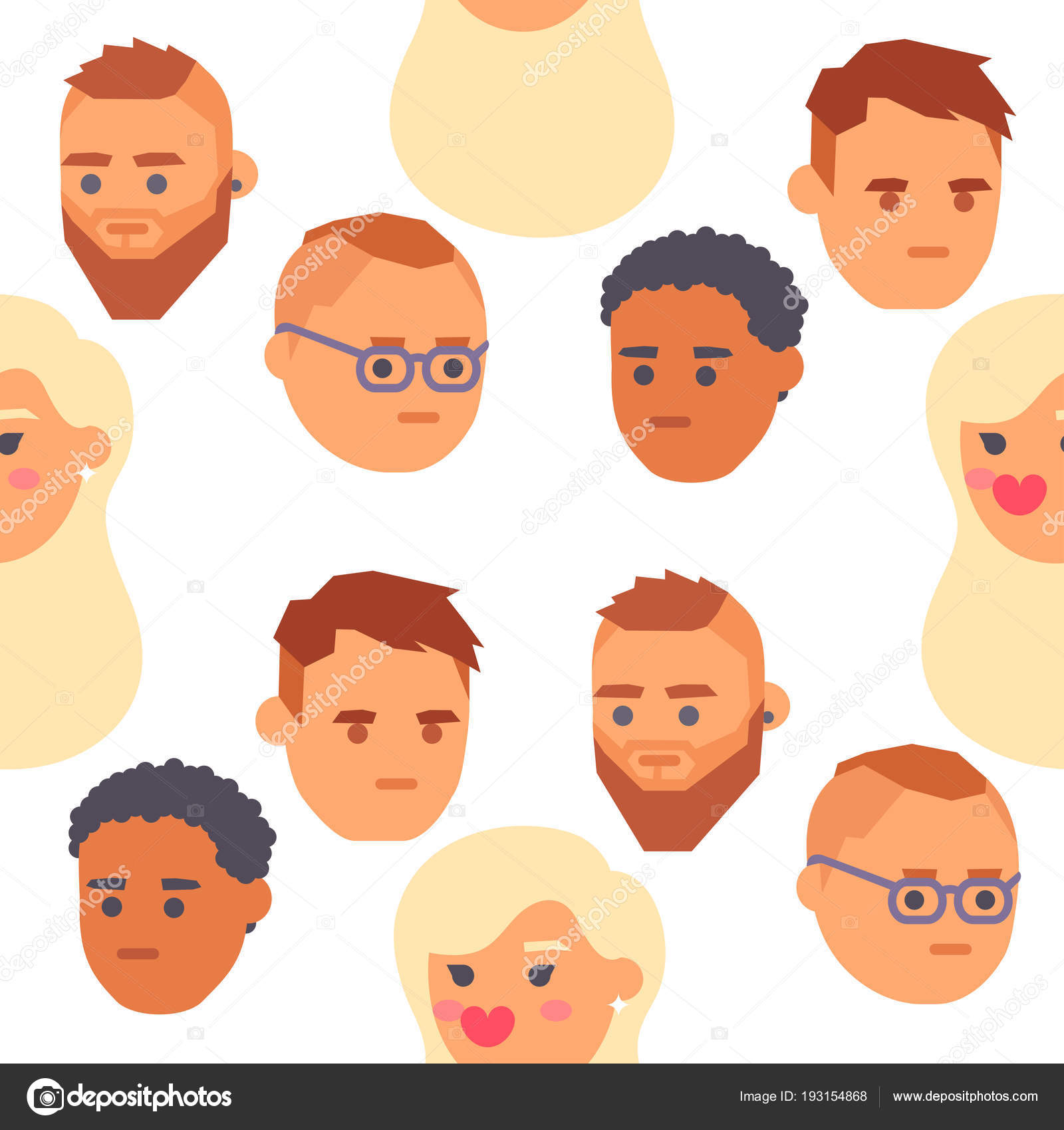 Worksheets Emotion Faces eemotion vector people faces cartoon emotions avatar illustration girl emotion woman emoji face icons and cute symbols happy