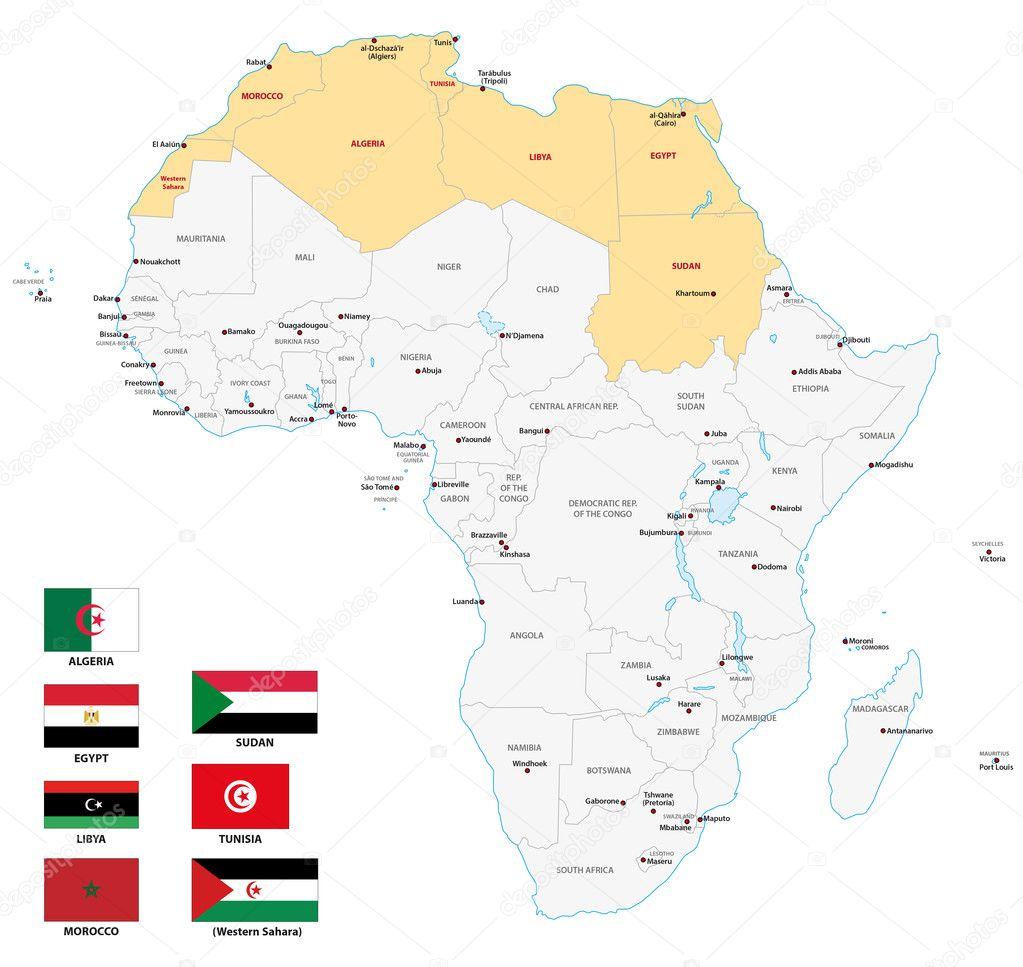 Afrika Karta Afrikansk Svinpest