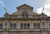Fotografie St Pauli Theater in Hamburg, Germany