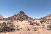 Spitzkoppe skupina plešatý žulové vrcholy v Namibijskou poušť Namib